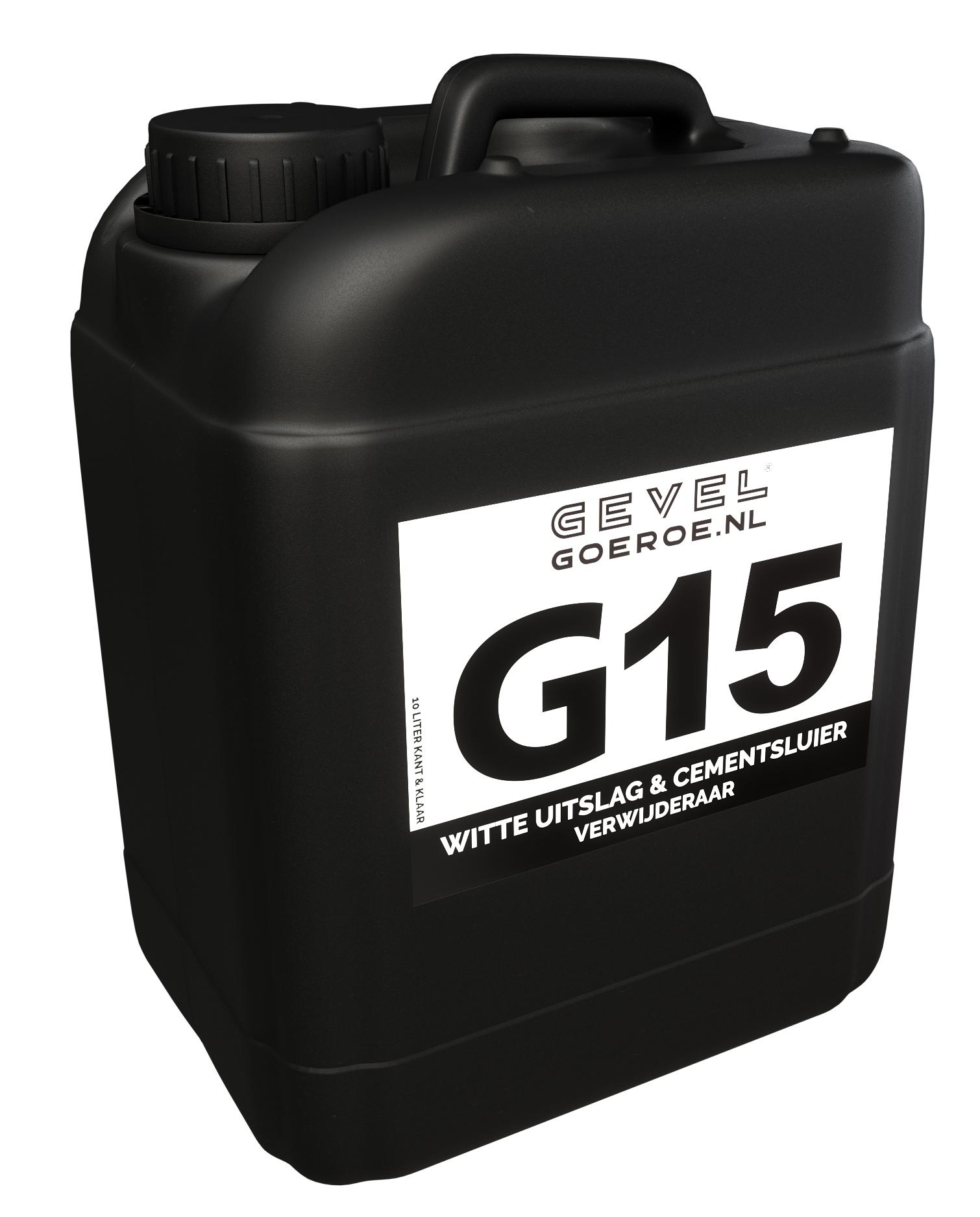G15 Kalk- & Cementsluier Verwijderaar 10L