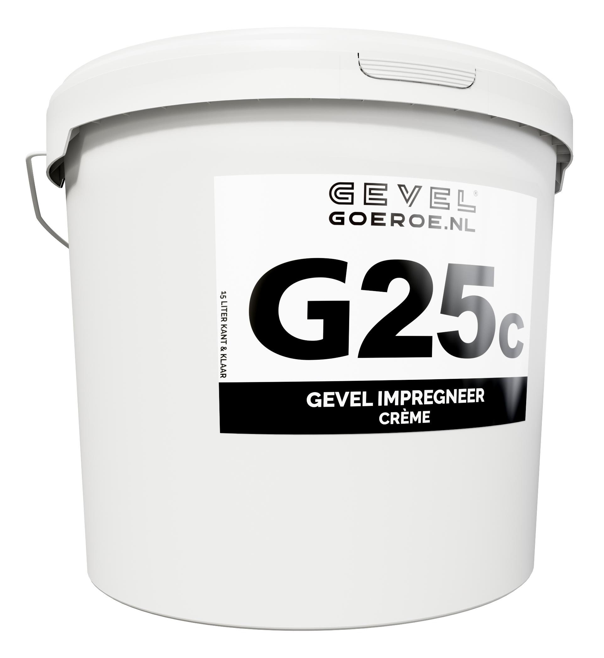 G25c - Gevel Impregneer Creme 15L