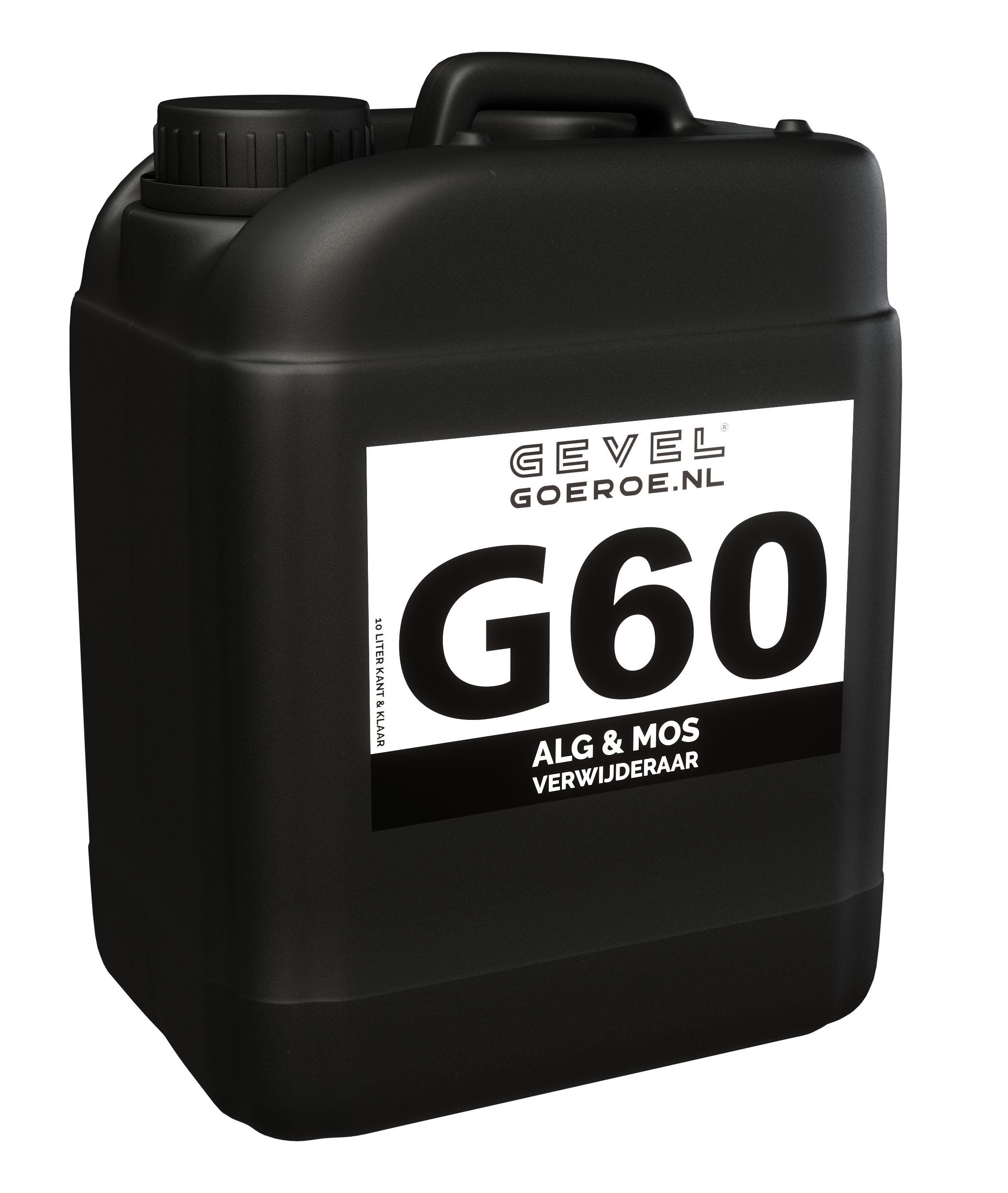 G60 - Algen- & Mosverwijderaar extra krachtig 10L